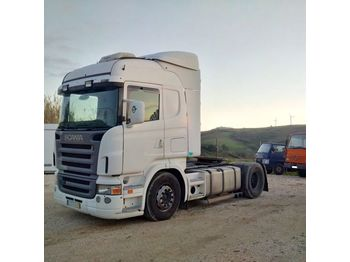 SCANIA R 420 left hand drive manual RETARDER - trattore stradale