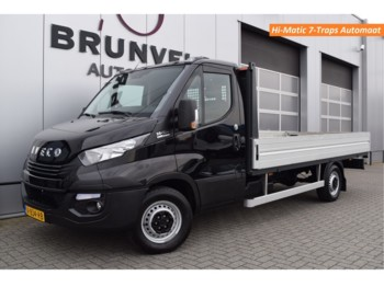 Iveco Daily 35S16A8 156pk, Hi-Matic 8-Traps Automaat, Trekhaak, Open Laadbak, Airco, Cruise, wb410 H2 - cassone aperto furgone